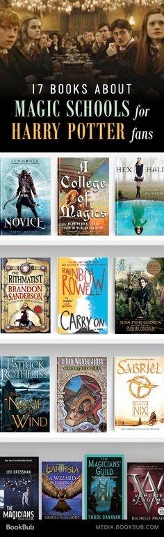 17 Books For Harry Potter Fans